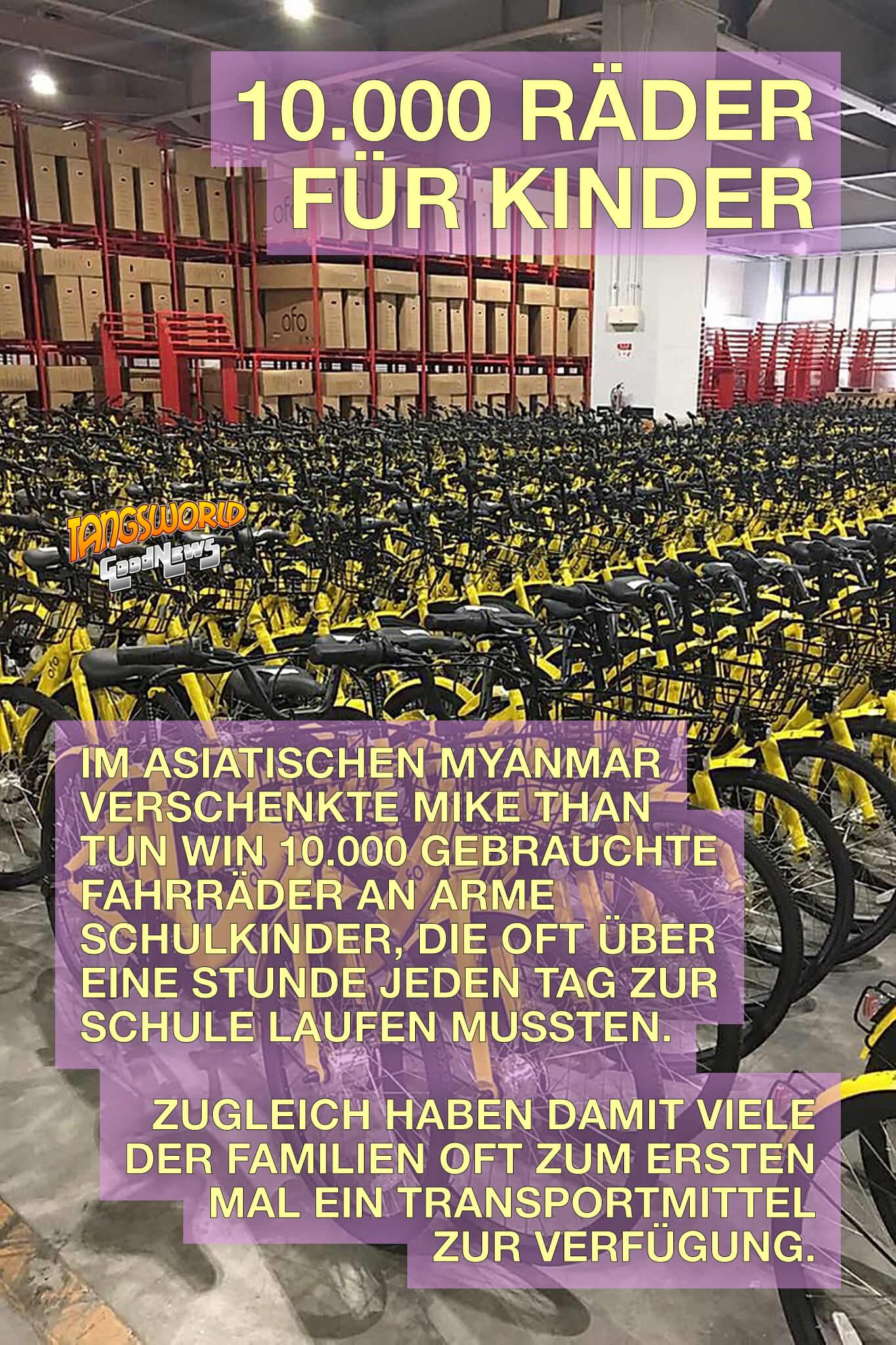 10000 Räder für Kinder - GoodNews