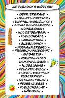 20 paradoxe Wörter - Geistes(bl)witze