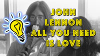 »All You Need Is Love« war John Lennons Botschaft 1967 mit den Beatles. - Geistesblitze Mini Movie