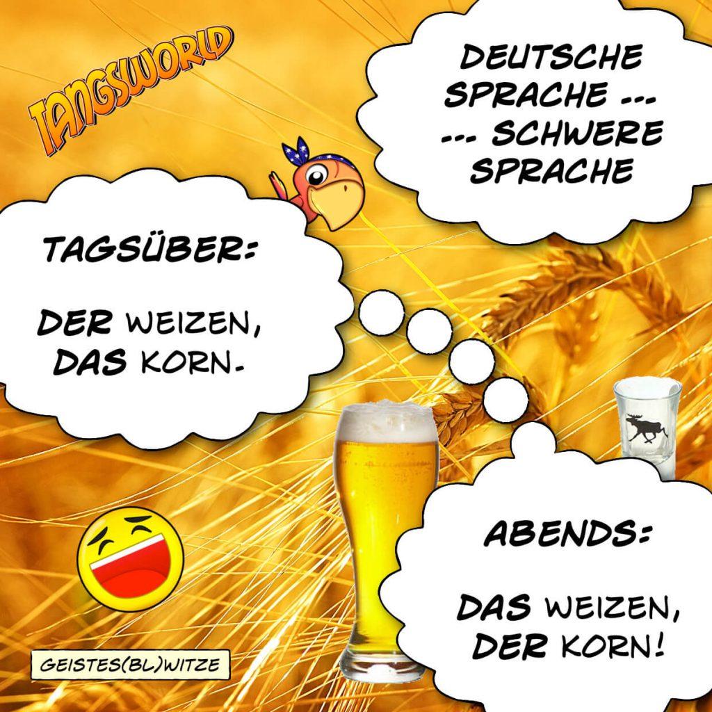 Tangsworld Deutsche Sprache Schwere Sprache