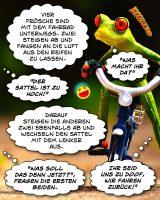 Frösche Fahrradtour - Geisteswitze