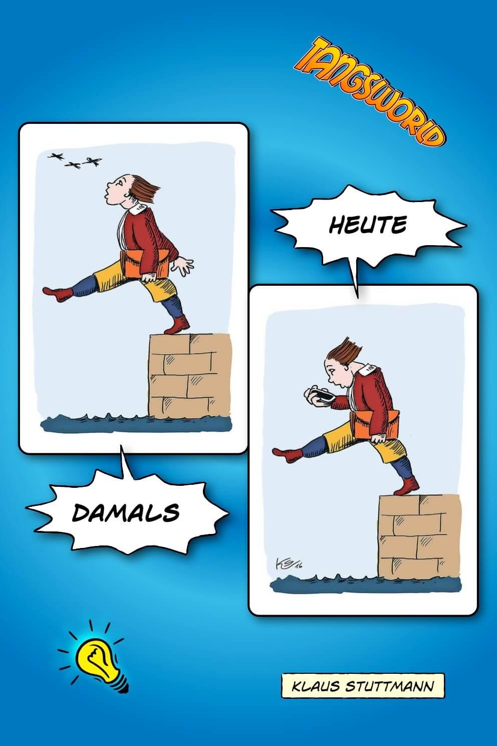 Hans guck in die Luft heute - Klaus Stuntman - Geistesblitze
