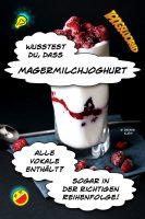 Wusstest Du, dass »Magermilchjoghurt« alle Vokale enthält? Sogar in der richtigen Reihenfolge! - Geistes(bl)witze