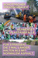 Straßenbelag aus Plastikabfällen - GoodNews